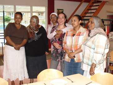 Bijeenkomst vrouwengroep