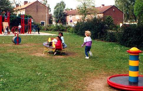 Speeltuin aan de Lambert Hendrikstraat