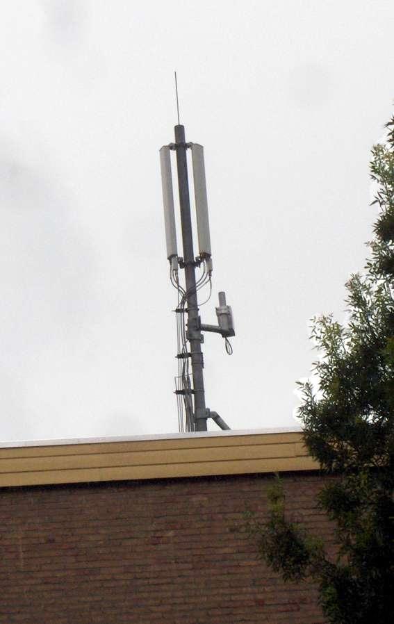 UMTS-mast aan de Graaf Waltgerlaan